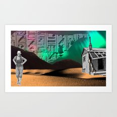 See To Be Art Print