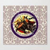 hocus pocus Canvas Prints featuring Hocus Pocus by GeekCircus