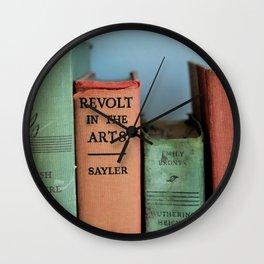 shabby close up Wall Clock