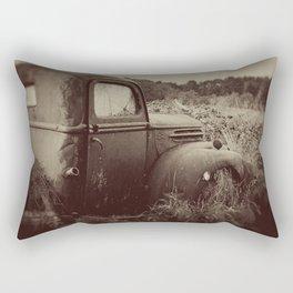 The Past Rectangular Pillow