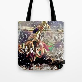 Flower and Pavement Tote Bag