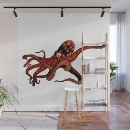Octoclipse Wall Mural