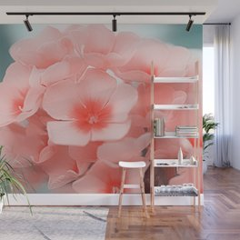 Pink Blossom Wall Mural