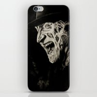 freddy krueger iPhone & iPod Skins featuring Freddy Krueger by Gabriel Fox