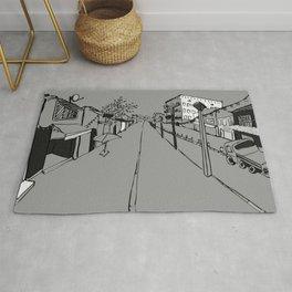 Jaffa Street Greys Rug