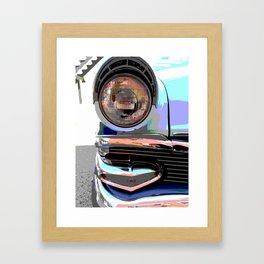 Headlight Nostalgia Framed Art Print