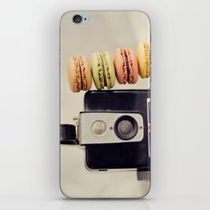A Brownie and some macarons iPhone & iPod Skin