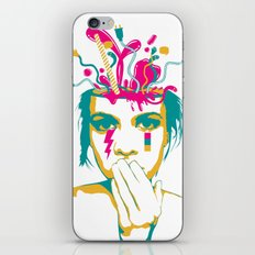 Liquid thoughts:Girl iPhone & iPod Skin