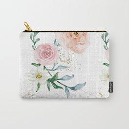 Rose Arrangement No. 1 Pattern Carry-All Pouch