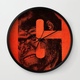 G is for Gorilla Wall Clock