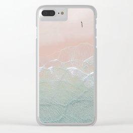 Ocean Walk II Clear iPhone Case