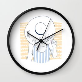 TROPICAL SUMMER. FUERTELOCURA Wall Clock
