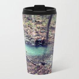 Forest Pond Metal Travel Mug