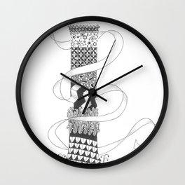 """Zenletter """"I"""" Wall Clock"""