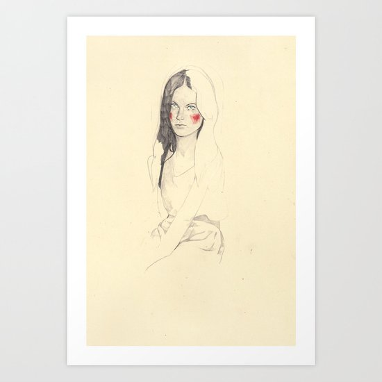 wipgirl Art Print