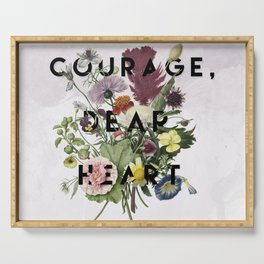 Courage Serving Tray