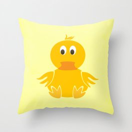 Quack Quack Duck Throw Pillow