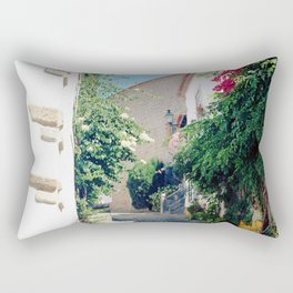 Portugal, Obidos (RR 181) Analog 6x6 odak Ektar 100 Rectangular Pillow