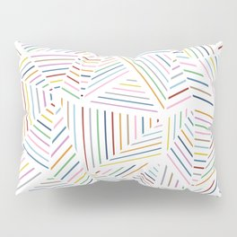 Ab Linear Rainbowz Pillow Sham