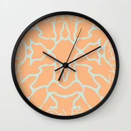 Dry Salmon Wall Clock