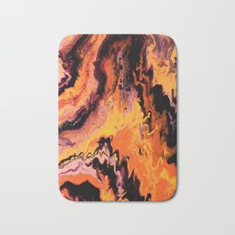 Up in Flames Bath Mat