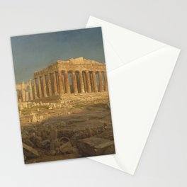 The Parthenon by Frederic Edwin Church Stationery Cards