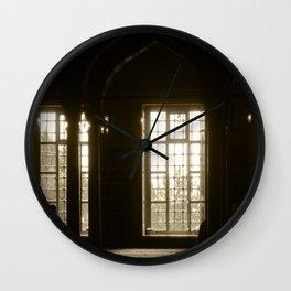 Earth East  Wall Clock