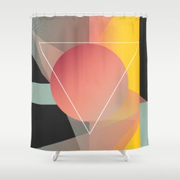 Objectum Shower Curtain