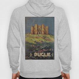 Apulia Castle del Monte vintage Italian travel ad Hoody