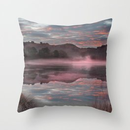 Rydal reflections Throw Pillow