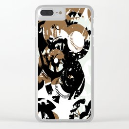 Bases and 8's Clear iPhone Case