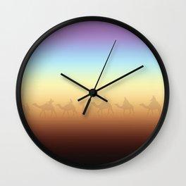 Sandstorm Wall Clock