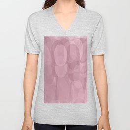 Purple shades Oval shapes Unisex V-Neck