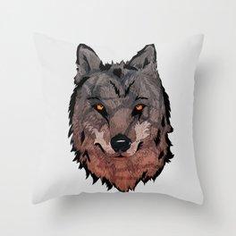 Wolf Mother Throw Pillow
