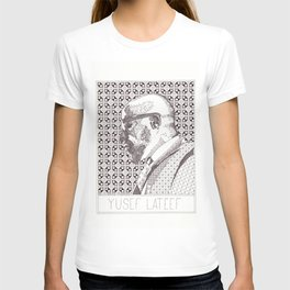 Yusef Lateef Jazz Portrait T-shirt