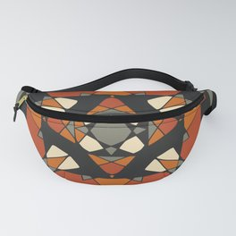 Mandala earth colors Fanny Pack