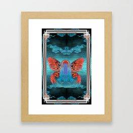 buddherfly #3 Framed Art Print