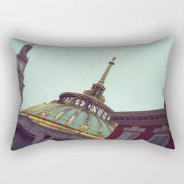 Antique Architecture Rectangular Pillow