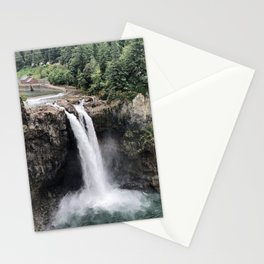 Snoqualmie Falls #2 Stationery Cards