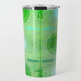 Green Peace Discs of Light Travel Mug