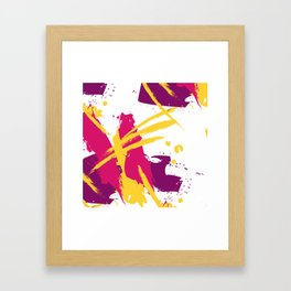 Fresh splash Framed Art Print