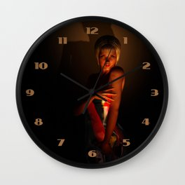 Rubber Love Wall Clock