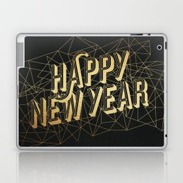 Happy New Year Laptop & iPad Skin