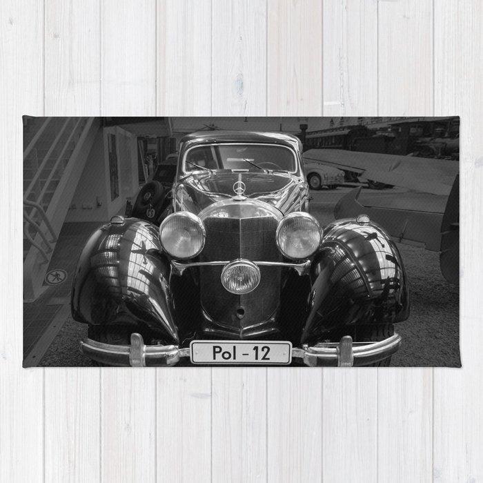 Car vintage Rug