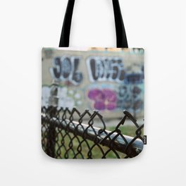 Graffiti and the Sunset, New York City - Flushing, Queens Tote Bag