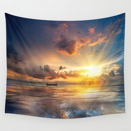 Lost In Paradise Wall Tapestry