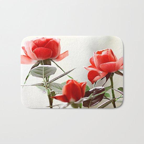 Romantic roses(8). Bath Mat