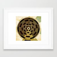 record Framed Art Prints featuring Record by Tammy Kushnir