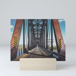 Badlands Bridge Mini Art Print
