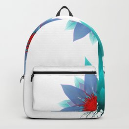 Aqua Bloom Backpack